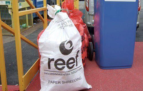 Paper Shredding Sacks, Eastbourne from Reef Environmental